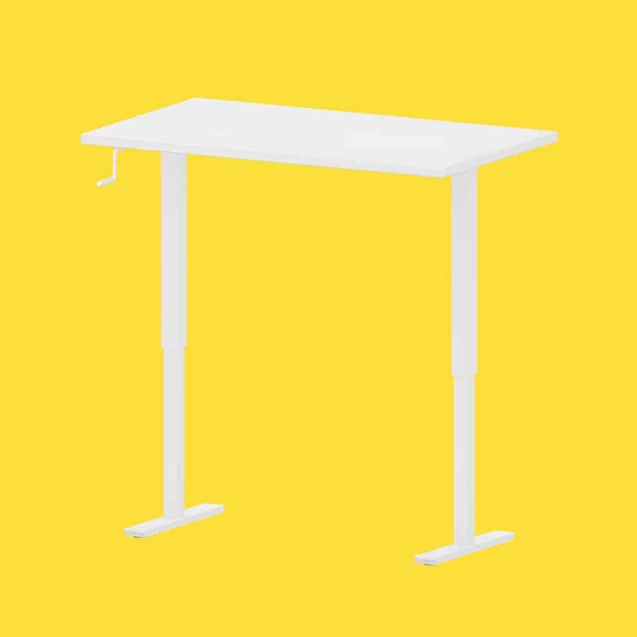 IKEA SKARSTA manual standing desk