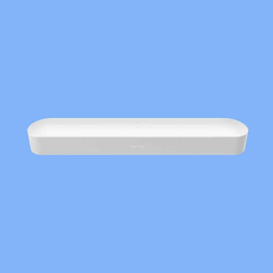 sonos beam soundbar white review